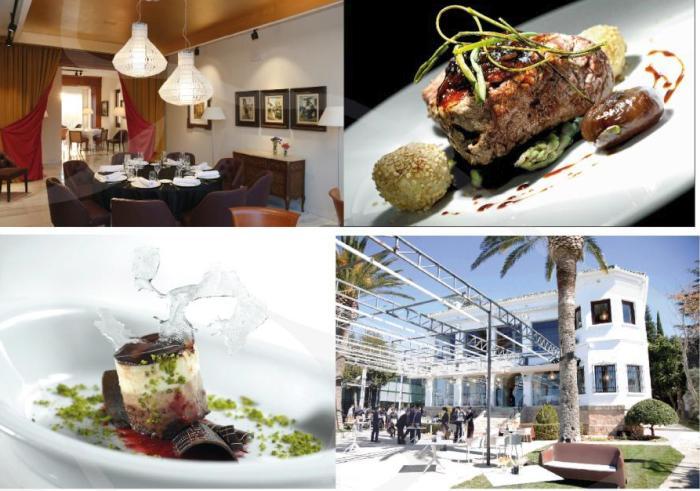 Abades restaurant in Ronda. Wegetarian and vegan menu