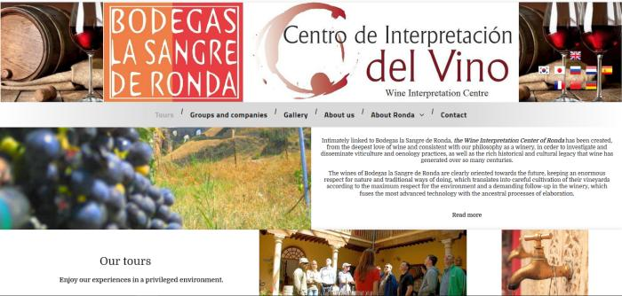 Bodegas La Sangre - Wine interpretation centre and wine tasting tours in Ronda Spain