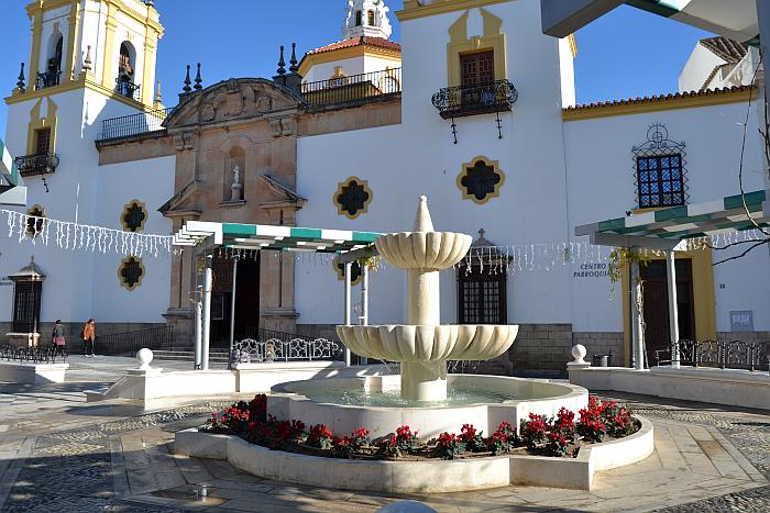 Plaza Socorro in Ronda