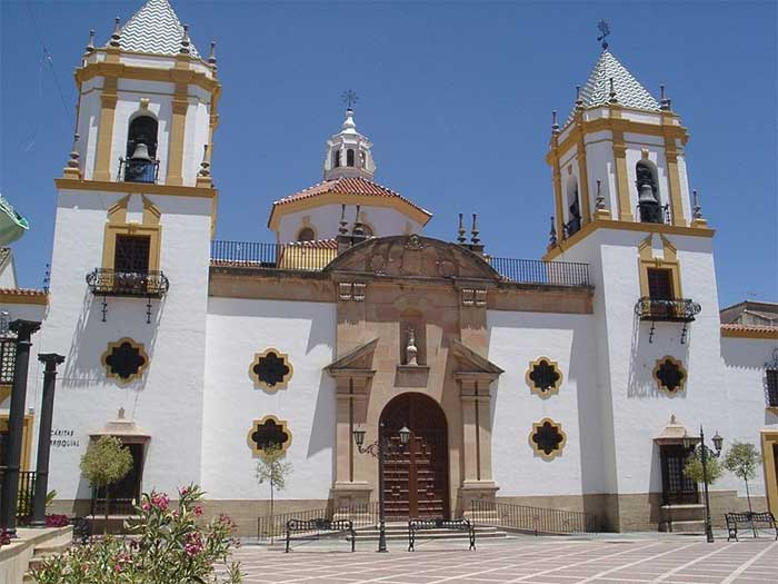 Socorro church in Ronda