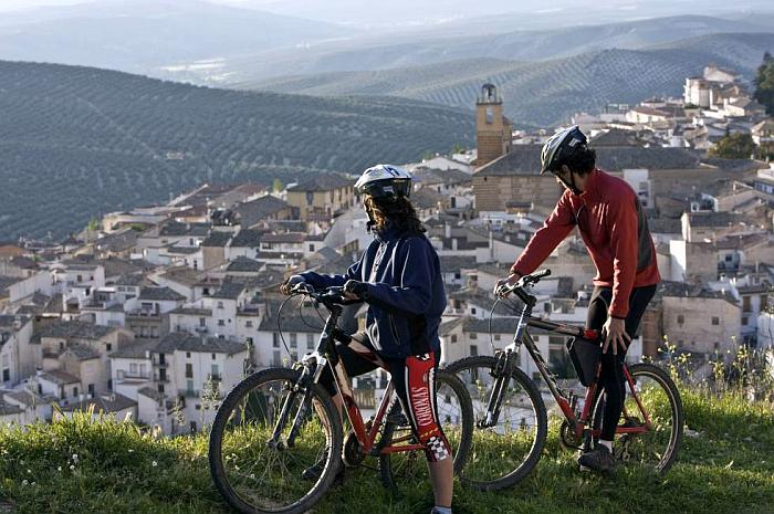 Cycling in Ronda