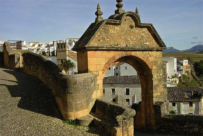 Archways in Ronda