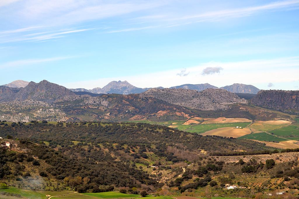 The Sierra de Grazalema from Ronda